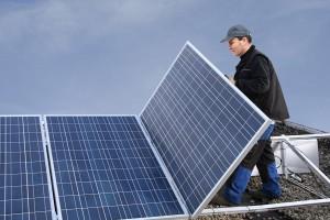 eine Photovoltaikanlagen